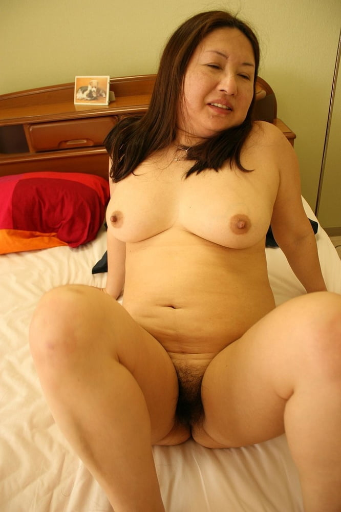 Cute and chubby filipina with hairy tattooed pussy creampied