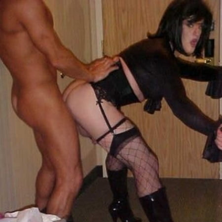 Sissy loves black cock