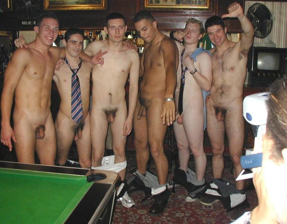 Drunk nude frat boys