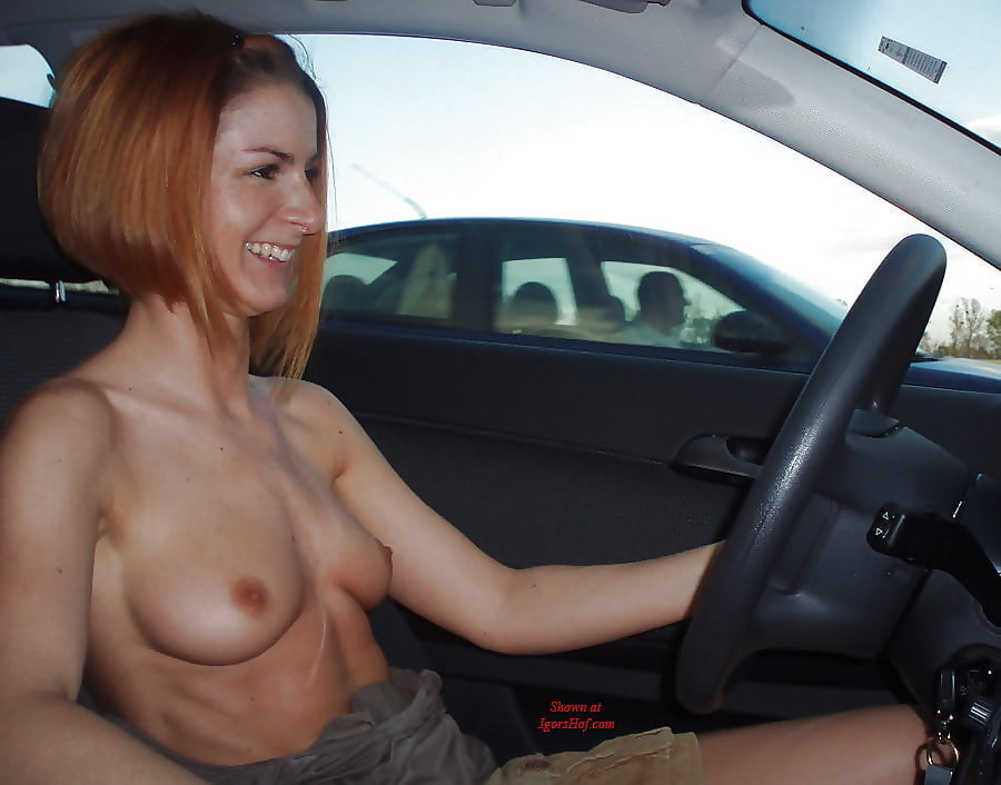 Driving Topless Tumblr