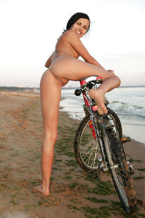 bikes and Naked babes