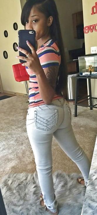 Lil booty ebony