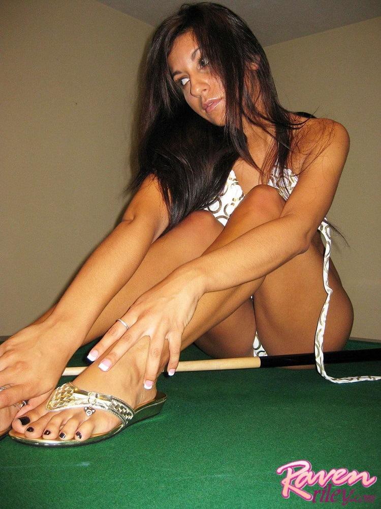 Raven Riley feet - 15 Pics