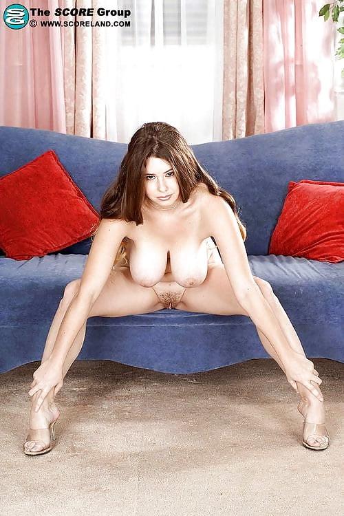 Ebony bbw chick with big tits poses