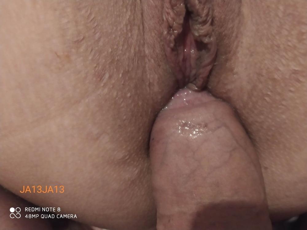 Wife anal - 7 Pics