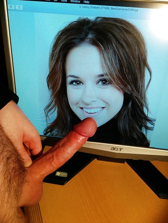 Lacey Chabert cocked
