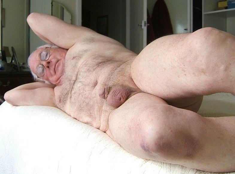 Naked grandpa old Grandpa Tube