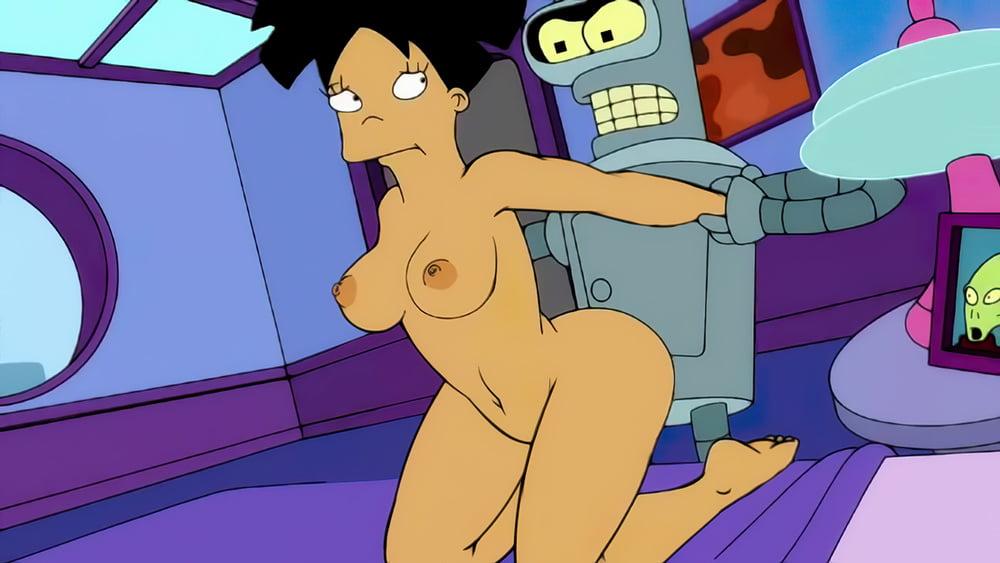 Futurama naked