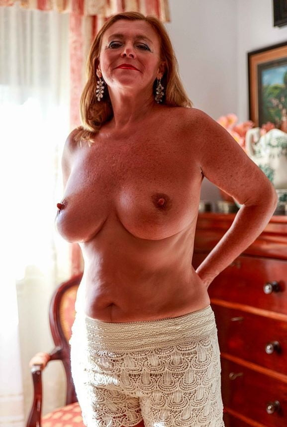 Horny and sexy mature women