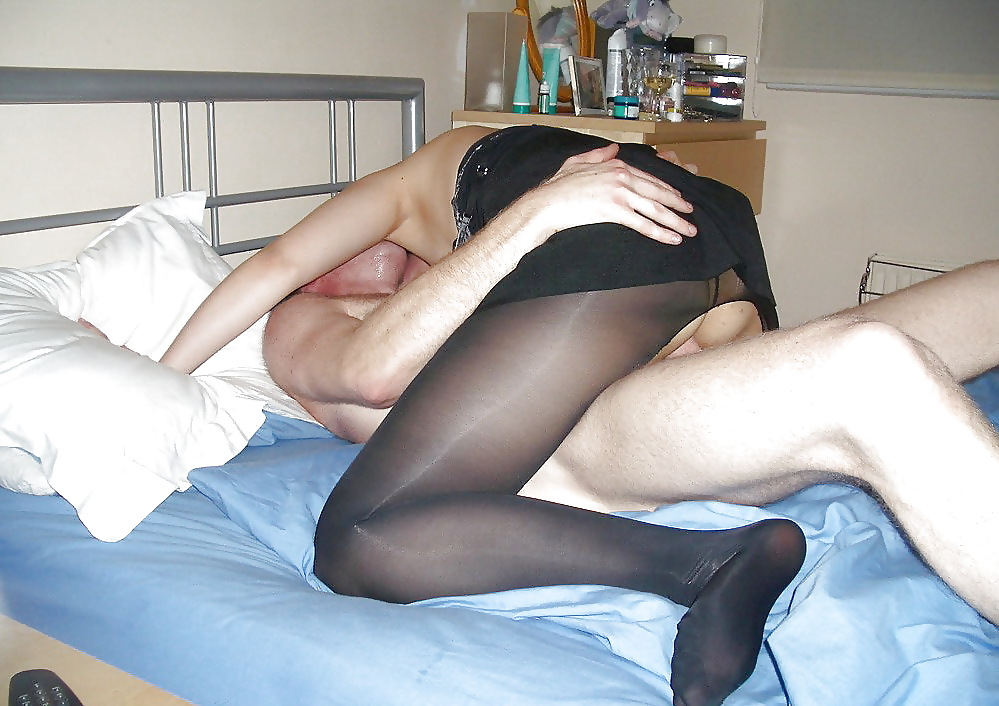 Home video black nylons couples — 2