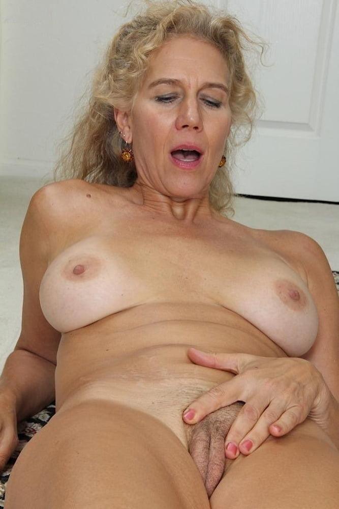 Older blonde milf black