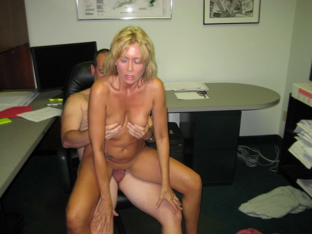 Office real moms naked