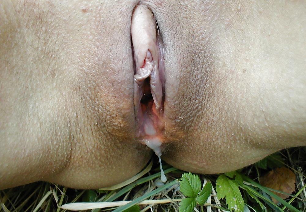 В большие половые губы кончают внутрь видео