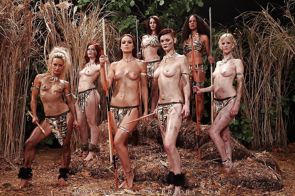 White lady nude amazon #8