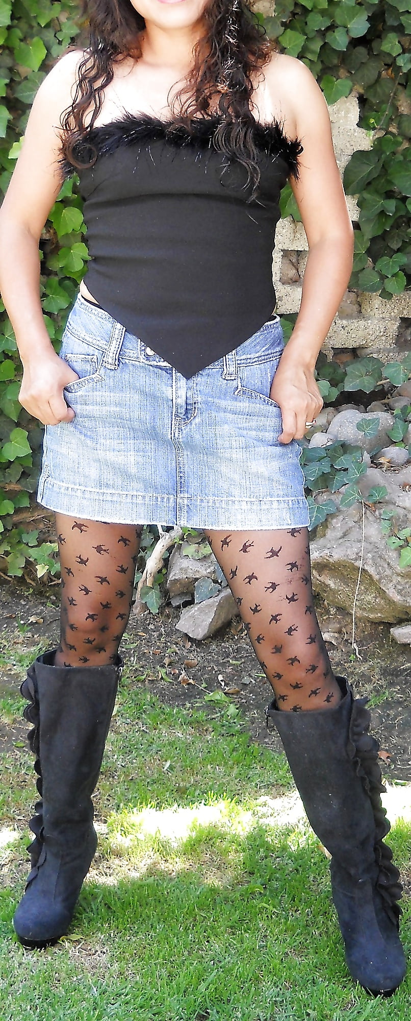 Pantyhose sexy milf-1962