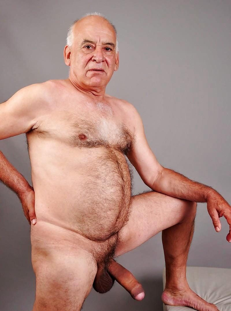 Free nude old men