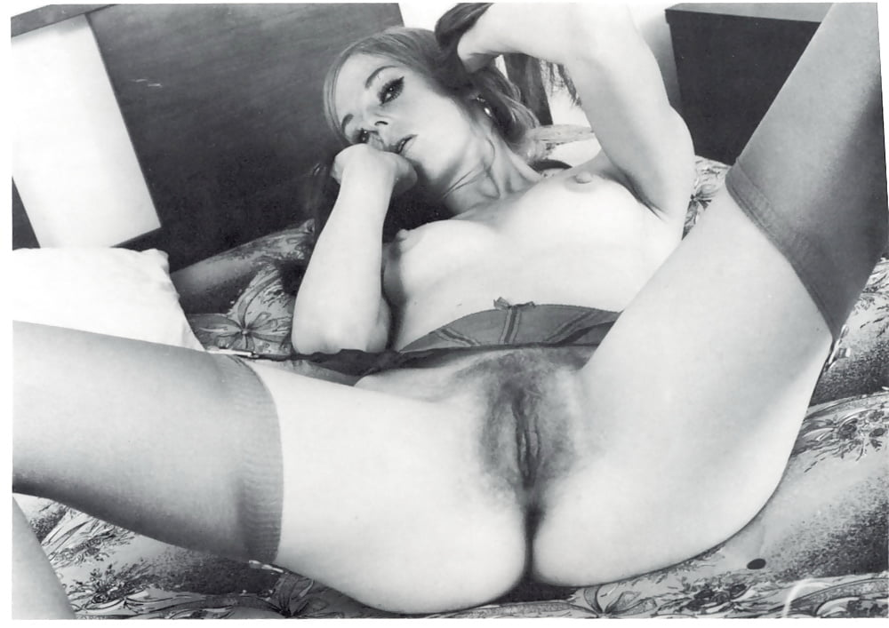 A proud display of vintage pussy