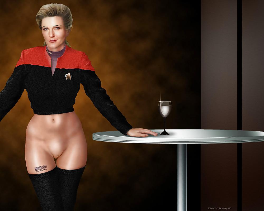 Naked Star Trek Babes
