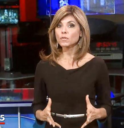 News anchor milf