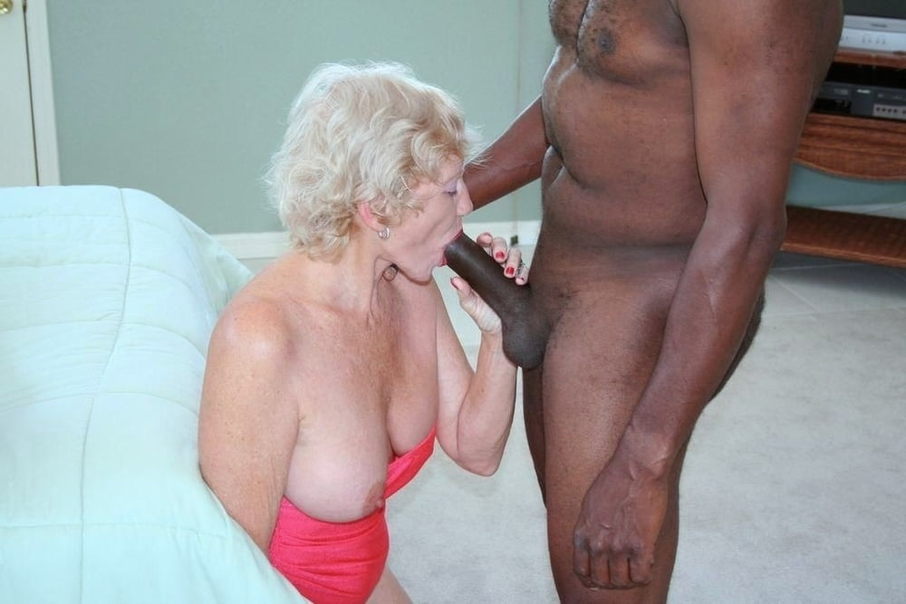 Interracial Grossmutter Cockold Oral