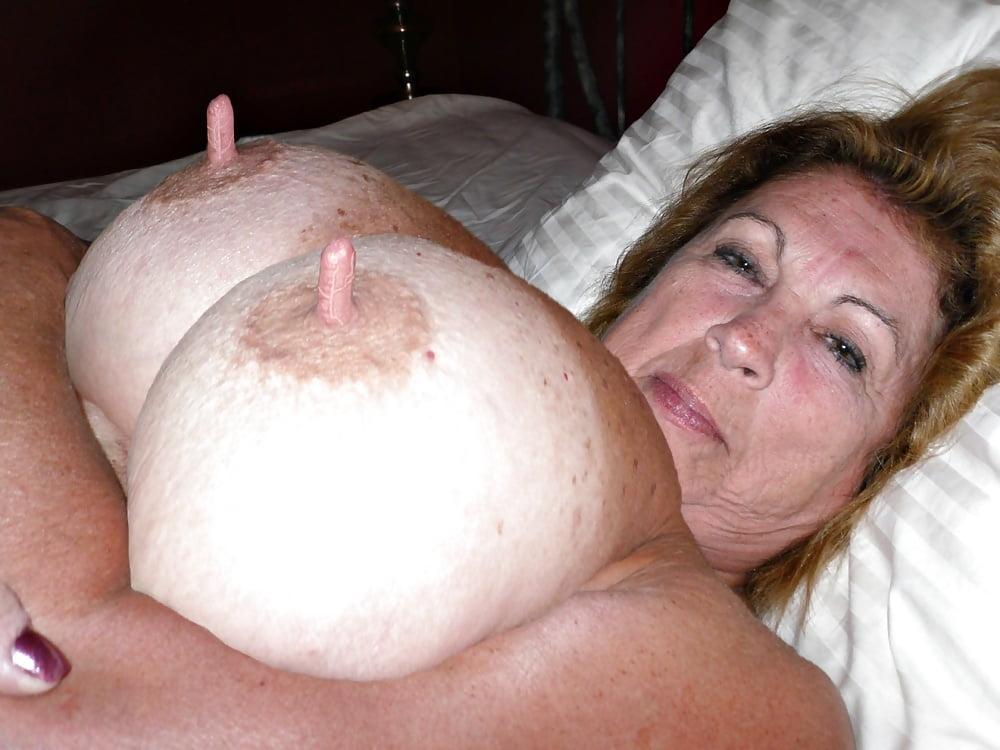 Granny Massive Nipples