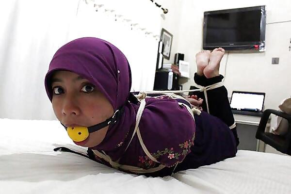 cum face hijab