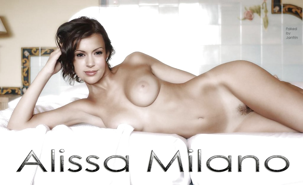 Alyssa milano kicks ass