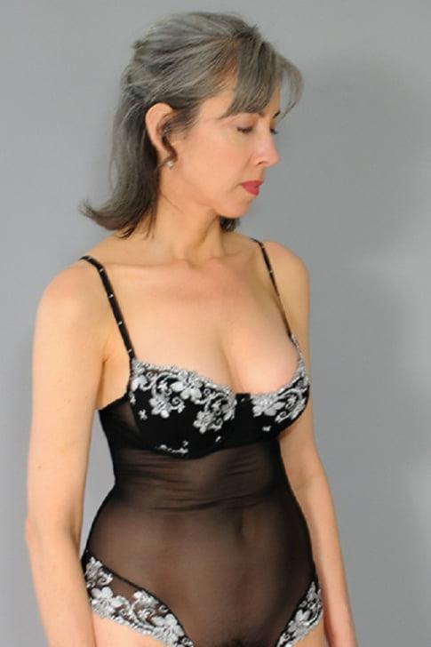 Black women in lingerie