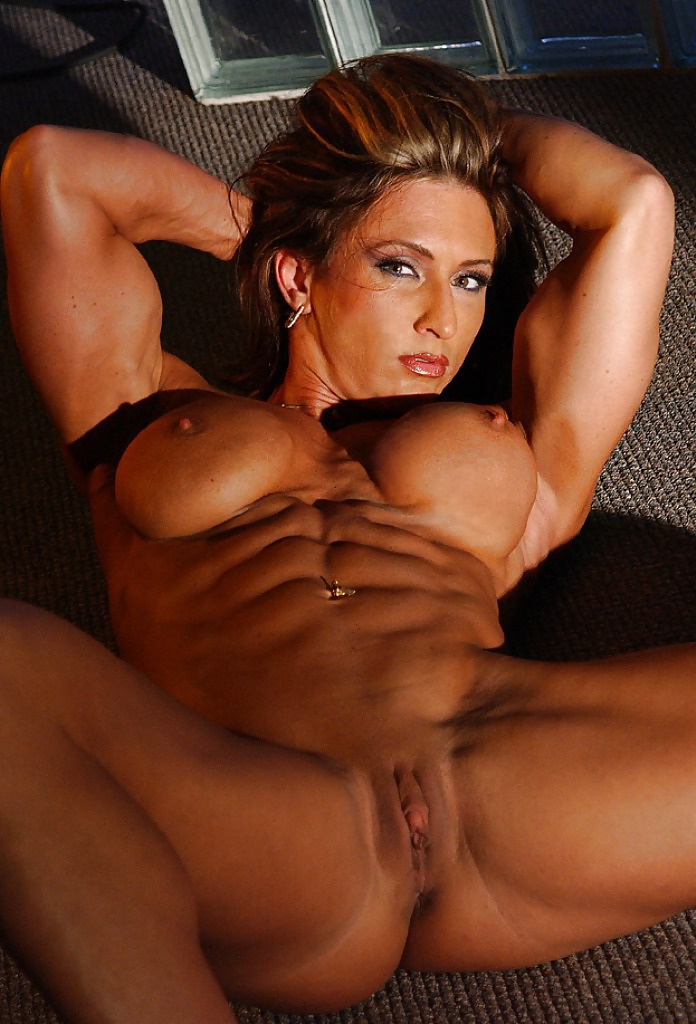 Six pack abs girl nude