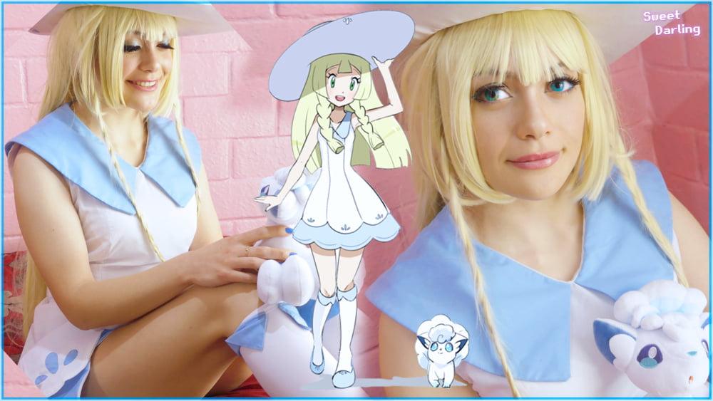 Pokemon Trainer Lillie- 6 Pics