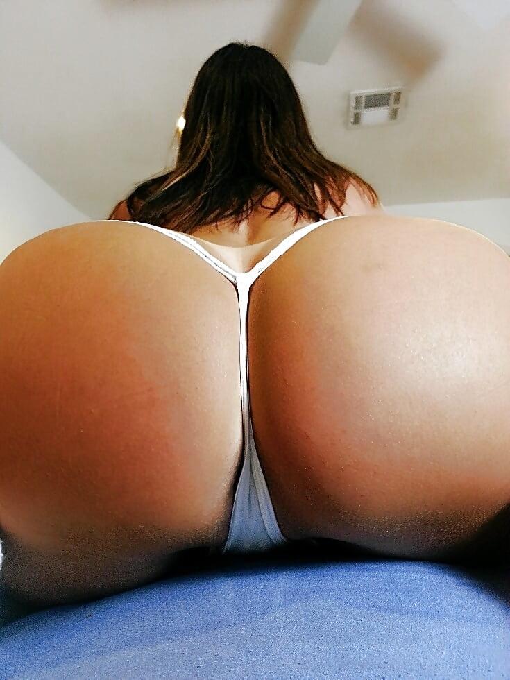 Mature wife ass thong