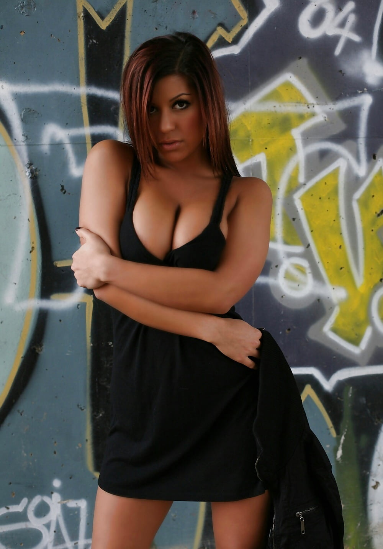 Briana lee cleavage mix