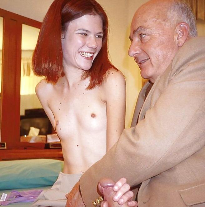 Very Old Fucks Skinny Redhead With Tiny Tits - 19 Pics -8716