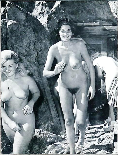 Vintage nudist camp pics
