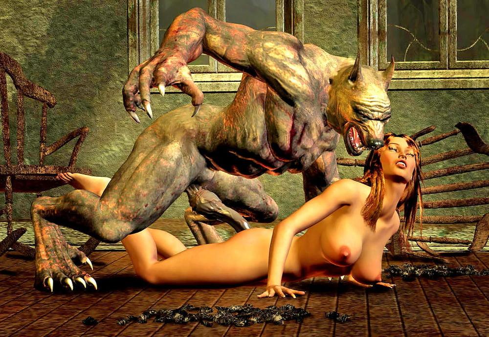 Female werewolf porn