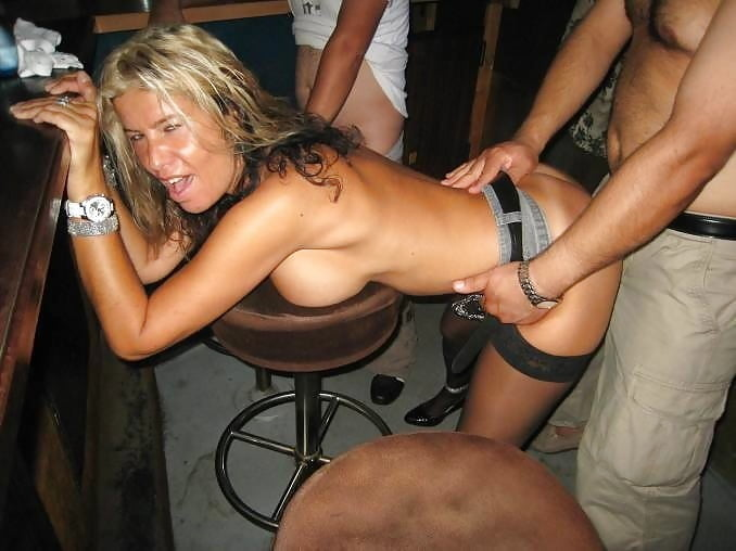 Bar slut mature fuck